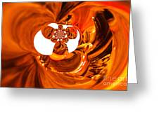 Whirls Abstract Greeting Card