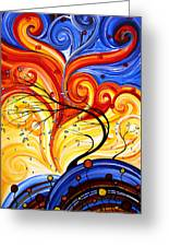 Whirlwind By Madart Greeting Card
