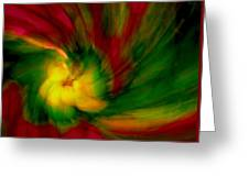 Whirlwind Passion Greeting Card