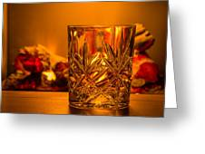 Whiskey In A Glass Greeting Card