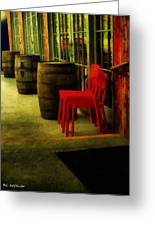 Whiskey Row Greeting Card