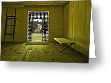 Whiskeytown Jail Greeting Card