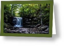 Whispering Falls Greeting Card