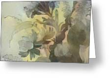 Whispering Flowers 2 Greeting Card