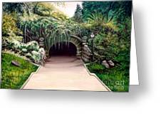 Whispering Tunnel Greeting Card