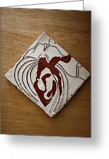 Whispers - Tile Greeting Card