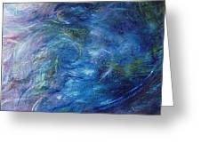 Whispers In A Sea Of Blue Greeting Card