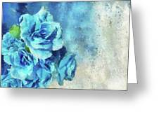 Whispers Of Blue Greeting Card