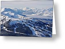 Whistler In Winter Greeting Card
