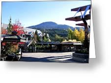 Whistler Mountain Greeting Card