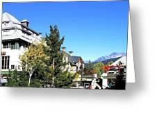 Whistler Village Greeting Card