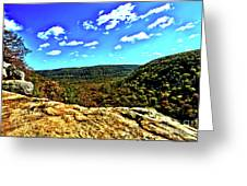 Whitakers Point View Greeting Card