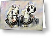 Whitbread Shires Greeting Card