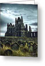 Whitby Abbey, England Greeting Card