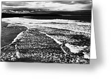 Whitby Sea And Sky  Greeting Card