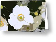 White Beauty Work Number 6 Greeting Card