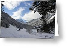 White Christmas  Greeting Card