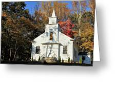 Little Country Church Greeting Card