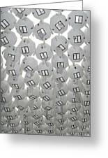White Lanterns Greeting Card