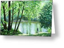 White Lick Creek  Greeting Card