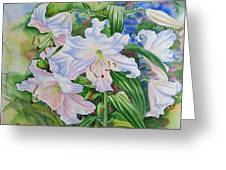 White Lily. 2007 Greeting Card