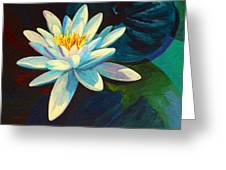 White Lily IIi Greeting Card