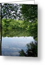 White Mill Park - Summer 2 Greeting Card