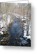 White Mill Park - Winter 2 Greeting Card