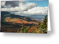 White Mountain Foliage Greeting Card