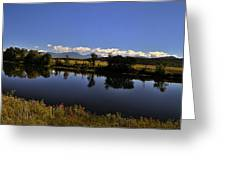 White Mountain Panorama Greeting Card