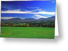 White Mountains From Route 2 Greeting Card