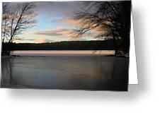 White Oak Pond Greeting Card