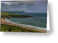 White Park Bay Greeting Card