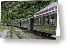 White Pass And Yukon Railway Greeting Card