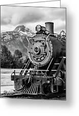 White Pass Railway Engine 73 Greeting Card