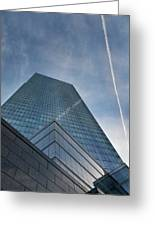 White Plains Office Buildings 1 Greeting Card