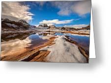 White Pocket Northern Arizona Greeting Card