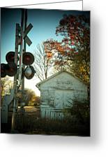 White Post Station Greeting Card