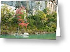 White River Arkansas Greeting Card