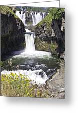 White River Falls Greeting Card