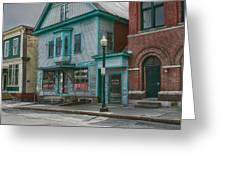 White River Junction Street Greeting Card