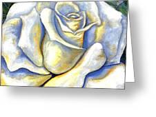 White Rose Two Greeting Card