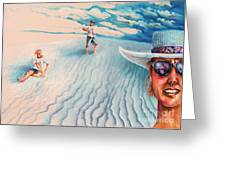 White Sands Family Greeting Card