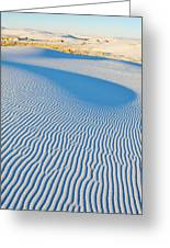 White Sands Magic Hour Greeting Card