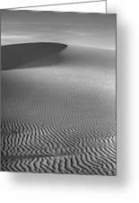 White Sands Sunset Dune Greeting Card