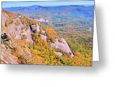 White Side Mountain Fool's Rock In Autumn Greeting Card