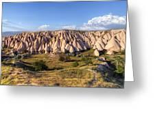 White Valley - Cappadocia Greeting Card