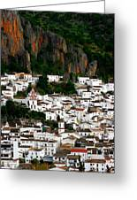 White Village Of Ubrique Spain Greeting Card