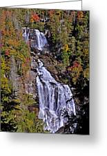White Water Falls Greeting Card
