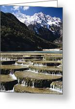 White Water River - Lijiang Greeting Card